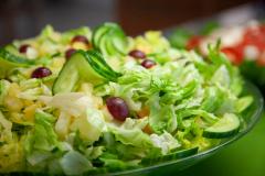 Virkistävää salaattia